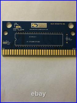 100x Second Dimension Sega Genesis Circuit PCB board (non-SRAM) DxS-GEN24TH-01