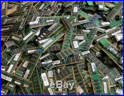 27 Lbs of Scrap Gold Memory Electronic Modules Ram Circuit Boards PCB Smelt