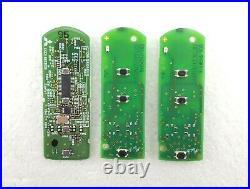 3 x Mazda 3, 6, CX-5, Etc. 3 & 4 Button Smart Key Circuit Board Job Lot Tested