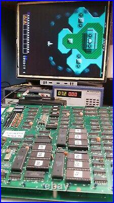 ALPHA MISSION 1985 SNK RARE NON JAMMA Arcade Circuit board PCB Working