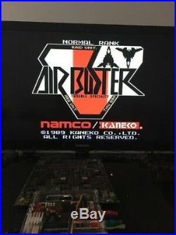 Air Buster Arcade Circuit Board PCB KANEKO Japan Shooter Game USED
