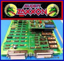 Arcade, Coin Operated, Amusement, Sega, Super Zaxxon, PCB, Circuit Board Set