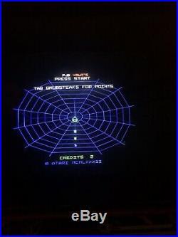 Atari Black Widow PCB game Circuit Board 1982 Arcade Game Vector