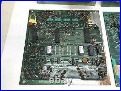 Bally Pinball Circuit Board, PCB Lot x 8, Solenoid, Lamp Driver, MPUs, As-is