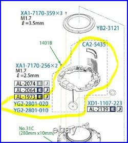 Canon EF 300mm F/2.8 L IS USM II Lens Main PCB Parts YG2-2801 Mark II 2