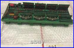 Cincinnati Milacron Laser Cutter Circuit Board PCB 841116 Rev B Assy 84117