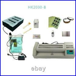 Circuit Board Making HK320SR Thermal Transfer HK2030 Etching Machine Kit for PCB