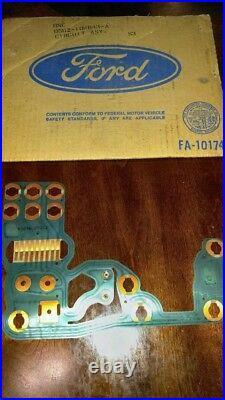 D5DZ-10K843-A NOS Ford Printed Circuit Board Gauge Wiring 75 Granada Monarch