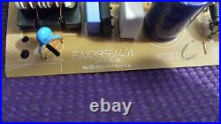 EAX39561401, LG DVD Recorder/VCR Player Combo RC689D Internal Circuit Board