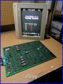 EXERION Arcade Game Circuit Board, Tested and Working Jaleco 1983 PCB