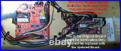 Early Valley Pool Table Great 8 CPU Circuit Board Update Replacement Kit