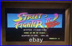 Extremely RARE Street Fighter 2 Turbo Hyper Fighting Circuit Board PCB Capcom