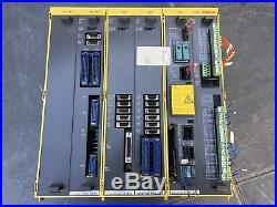 FANUC Welding Robot Controller CPU PSU 1/0 PCB Circuit Boards control rack A16B