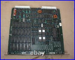 FINE SODICK CPU-02 W09020 CIRCUIT BOARD PCB from SODICK EDM 275 MACHINE
