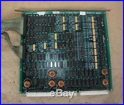 FINE SODICK I/O-01 0 ET710322-2 CIRCUIT BOARD PCB from SODICK EDM 275 MACHINE