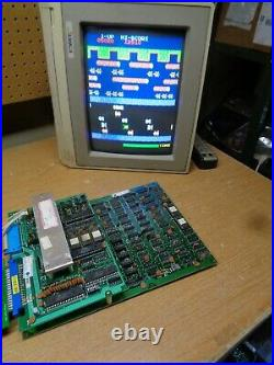 FROGGER Arcade Game Circuit Boards, Tested and Working, Sega Gremlin 1981 PCB