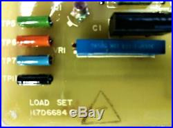 GE 117D6684 G1 Load Set Printed Circuit Board
