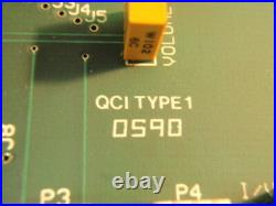Haas VF-1 VMC keyBoard Interface Card QCI Type 1 Rev A Circuit Board PCB