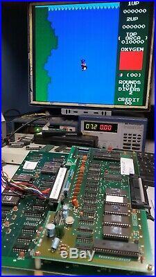 Marine Boy 1982 Orca RARE NON JAMMA Arcade Circuit board PCB Working ser # 0003