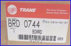 Nib Trane Brd-0744 Printed Circuit Board X13650396-05 Rev B Brd0744
