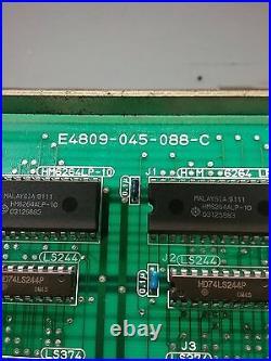 Okuma Circuit Board Pcb E4809-045-088-c E4809045088c 1911-1580-70-34 0198