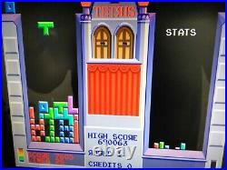 Original 1988 Atari Tetris Arcade Circuit Board PCB Jamma (Working)