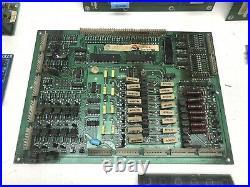 Pinball Circuit Board, PCB Lot x 12, Solenoid Driver, Power Supply, Displays