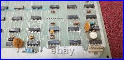 RARE VINTAGE 1974 ATARI Quack A000937 BLACK AND WHITE CIRCUIT BOARD ARCADE PCB