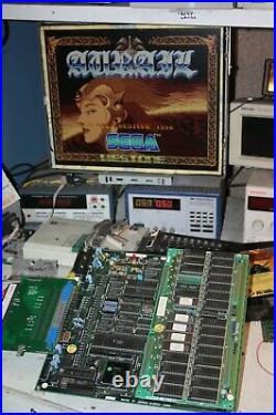 Rare Aurail Sega System 16 Not Jamma Arcade Circuit Board Pcb Working