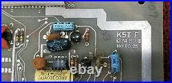 Rare Vintage 1974 Atari Tank 10 K5t-f Black And White Circuit Board Arcade Pcb#2