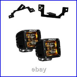 Rigid For 03-09 Ram 2500/3500 02-08 Ram1500 Radiance Amber & Fog 20204 + 46541
