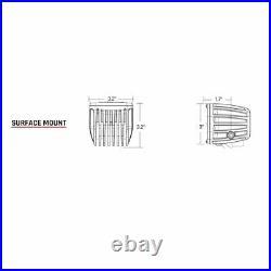 Rigid Radiance Pod White 20200 & Fog Light Kit For 03-09 Ram 2500/3500