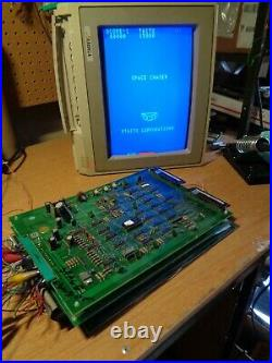 SPACE CHASER Video Arcade Game Circuit Boards, Tested and Working Taito 1980 PCB