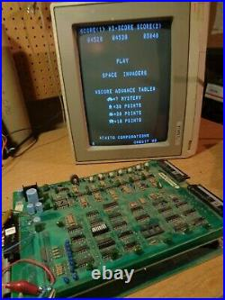 SPACE INVADERS Video Arcade Circuit Boards, Tested and Working Taito 1978 PCB
