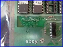 SPACE ODYSSEY Video Arcade Game Circuit Boards, Sega Gremlin 1981 PCB G80