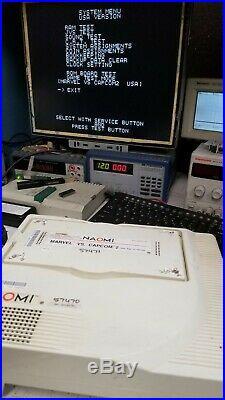 Sega NAOMI Marvel vs Capcom 2 Motherboard & Cartridge ARCADE Circuit board PCB