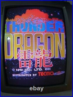 Thunder Dragon Arcade Circuit Board PCB TECMO ORIGINAL PCB BOARD ARCADE JAMMA