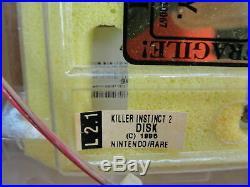 Vtg Killer Instinct 2 Midway Nintendo Pcb Video Game Arcade Circuit Board Jamma
